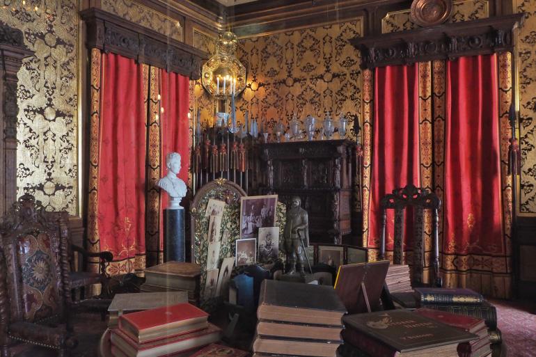 Visite du palais d'Amalienborg à Copenhague