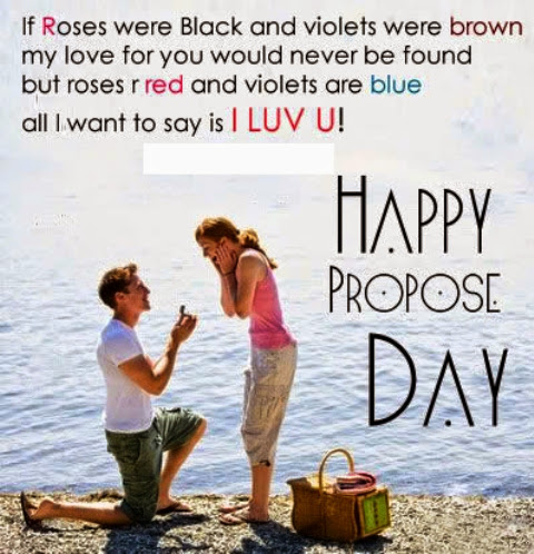 Propose Day Quote Wallpaper