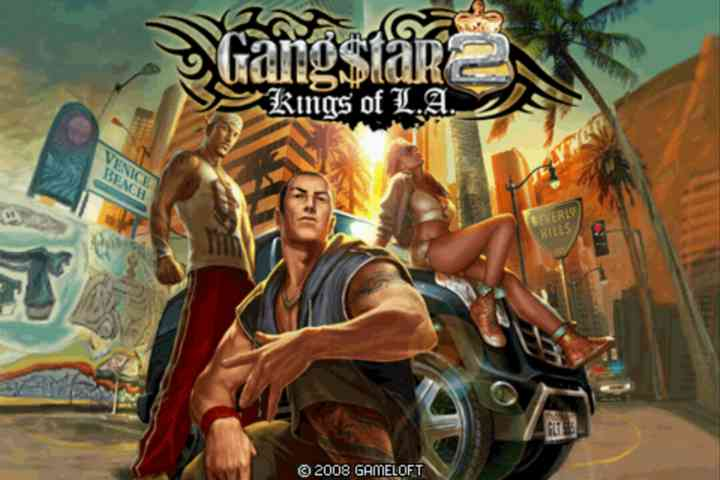 Gangstar 2: Kings of L.A. 2D Android