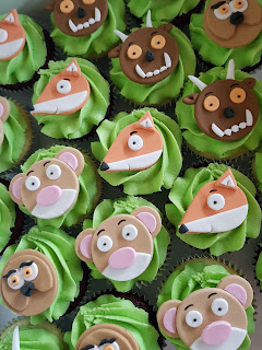 The Gruffalo's Child cupcakes