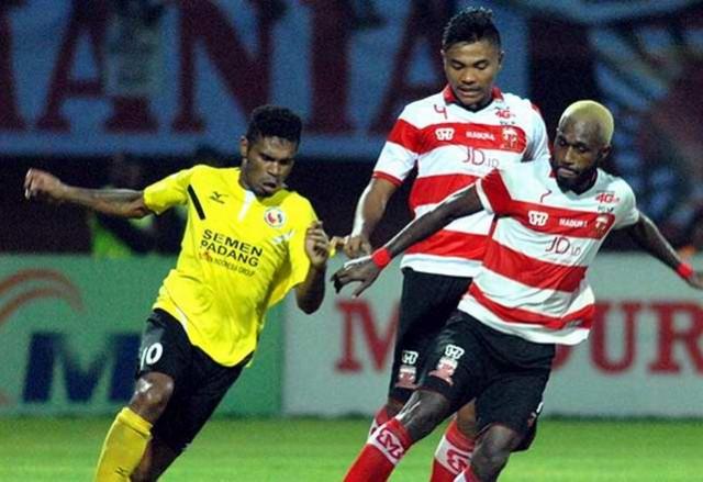 Berhasil Menangkan Pertandingan Atas Madura United, 3 Pemain Semen Padang Ini jadi Sorotan