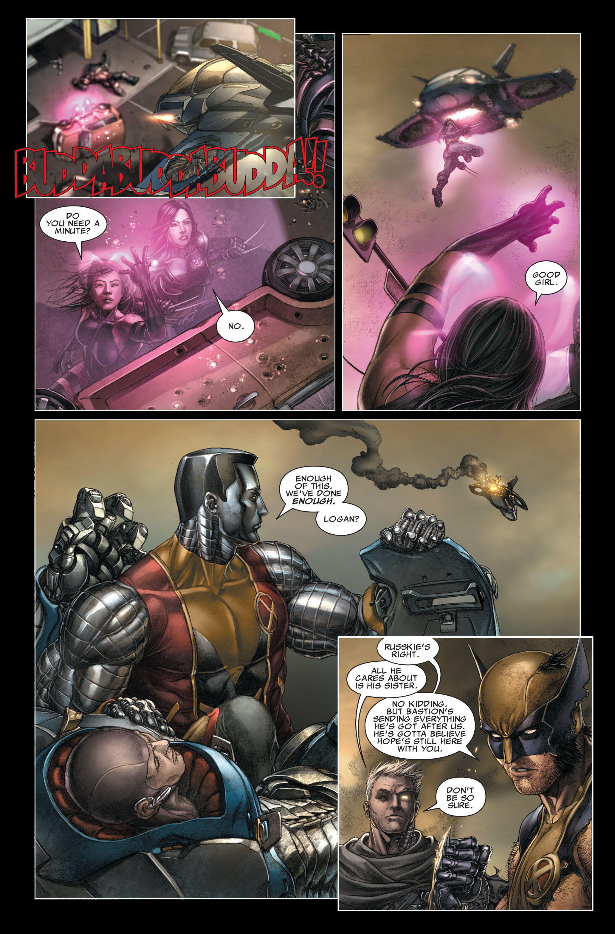 Read online X-Force (2008) comic -  Issue #26 - 10