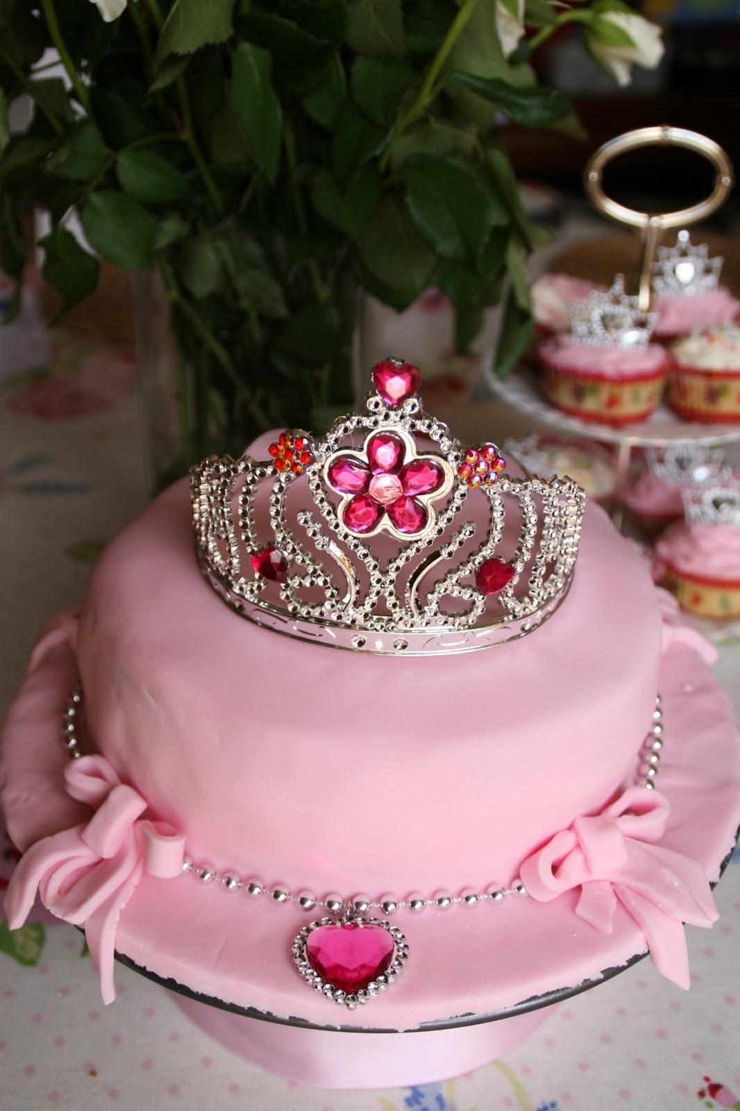 Princess Tiara Birthday Cake Cake Recipe