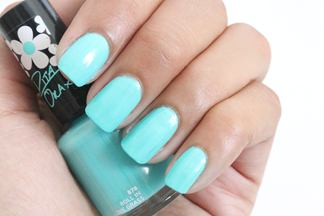 Rimmel 60 Seconds Rita Ora Mint Nail Polish
