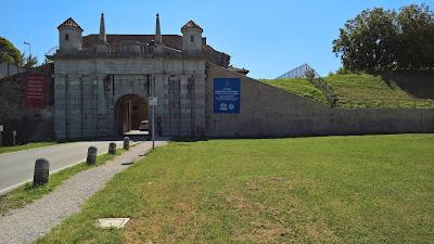Palmanova:  Porta Udine.