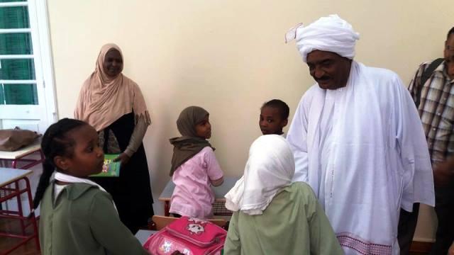 تم افتتاح المدرسة السودانية بجمهورية مصر العربية والمعلمين مصريين أغسطس 2016 !! .