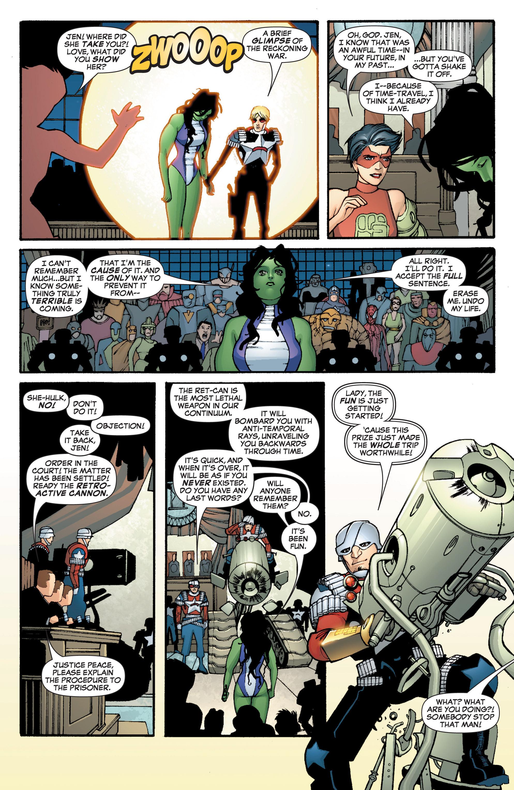 Read online She-Hulk (2005) comic -  Issue #3 - 29