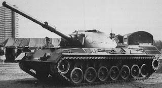 primeiro modelo do Leopard-1 de 1968
