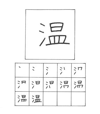 kanji hangat