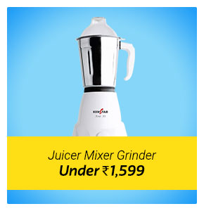 Juicer Mixer Grinder under Rs. 1599.