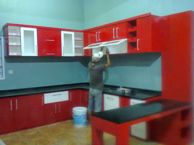 Kitchen Set Murah Minimalis Modern