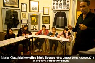 Νίκος Λυγερός: Μαθηματικά Νοημοσύνη και Παιδί