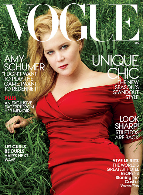 Actress, @ Amy Schumer by Annie Leibovitz for Vogue US, July 2016