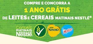 Cadastrar Promoção Nestlé Cereais 2017 Um Ano Grátis