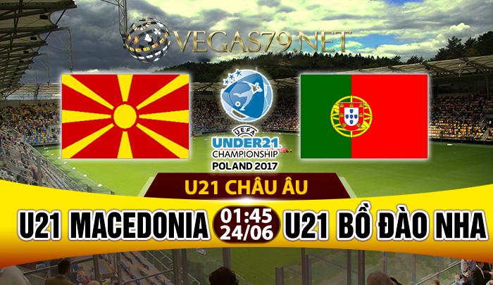 Nhận định, soi kèo nhà cái U21 Macedonia vs U21 Bồ Đào Nha