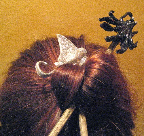 20,000 Funky Leagues under the sea hair sticks Tanyaruffin.com