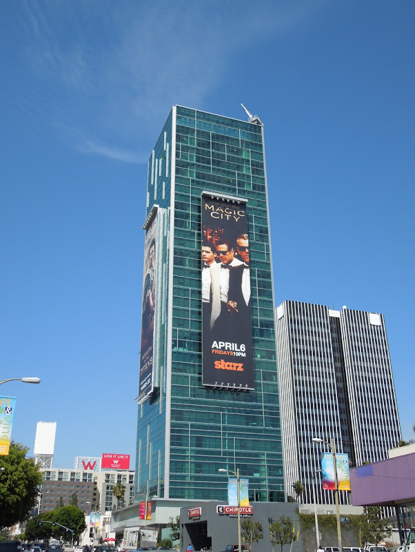 Giant Magic City billboard