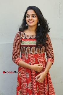 Telugu Actress Nikhila Vimal Latest Stills in Anarkali Dress  0018.JPG