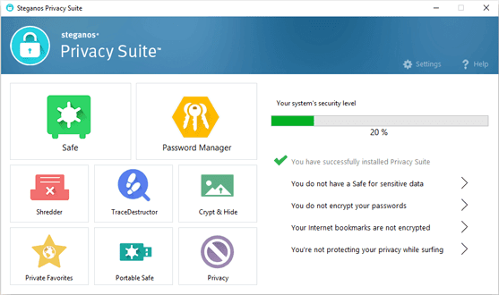Steganos Privacy Suite 20 Full Version