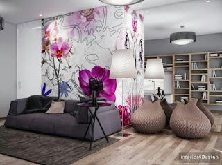 Purple Global Color: A Radiant Orchid Decor