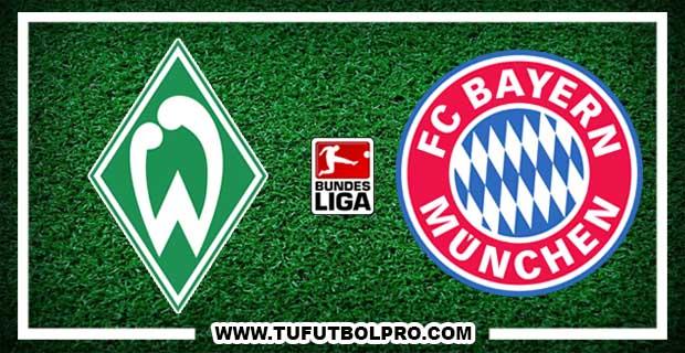 Ver Werder Bremen vs Bayern Múnich EN VIVO Por Internet Hoy 26 de Agosto 2017