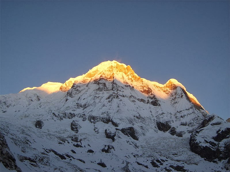 Mount Annapurna - 15 Highest Peaks in the World