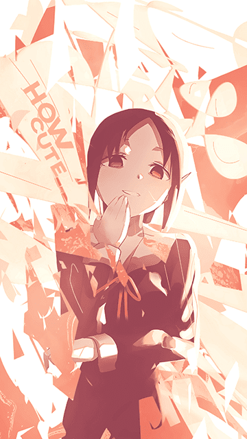 How Cute - Kaguya-sama:Love Is War Wallpaper