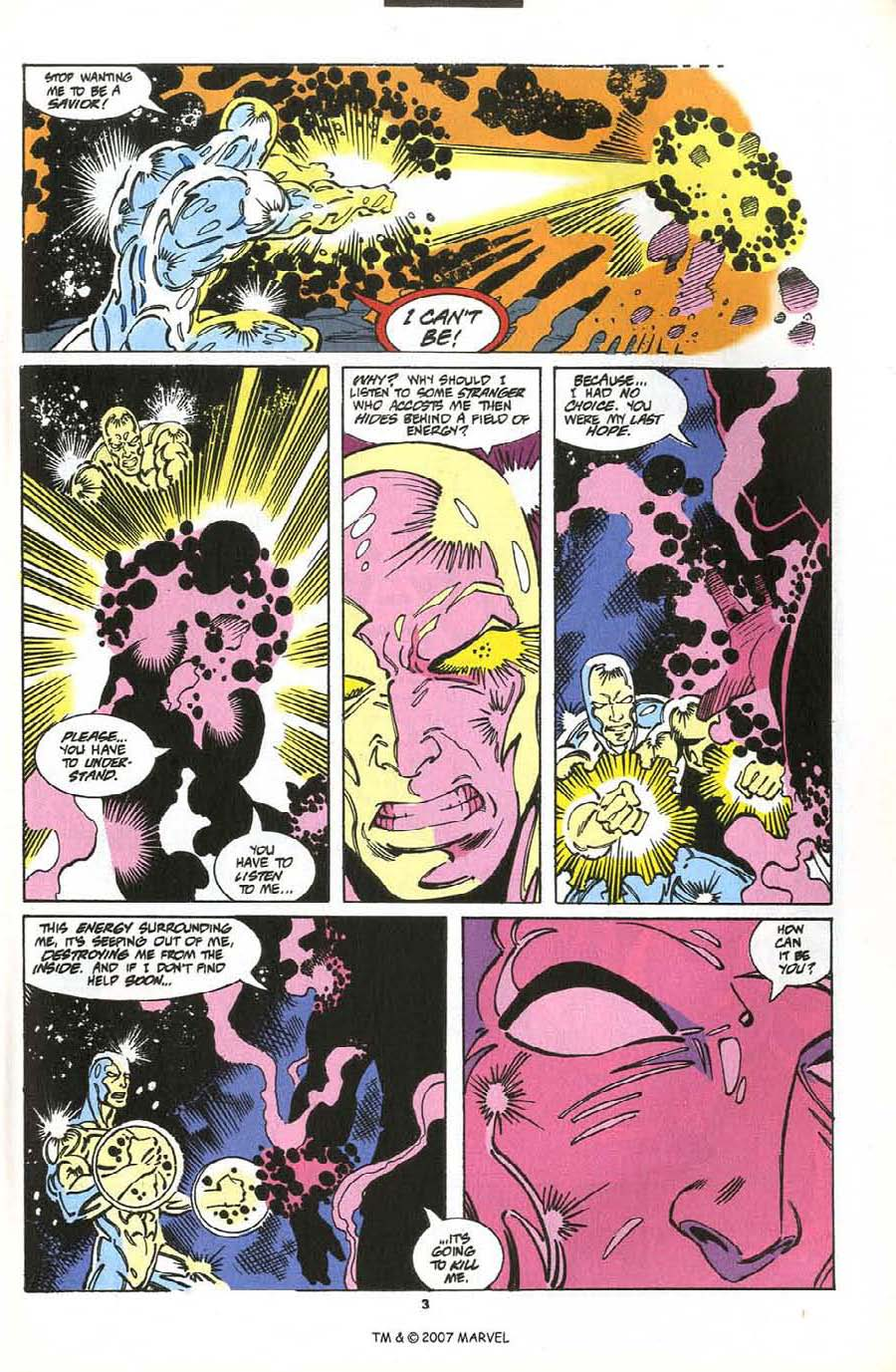 Read online Silver Surfer (1987) comic -  Issue #76 - 5