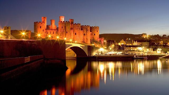 Galles: visitare il castello di Conwy