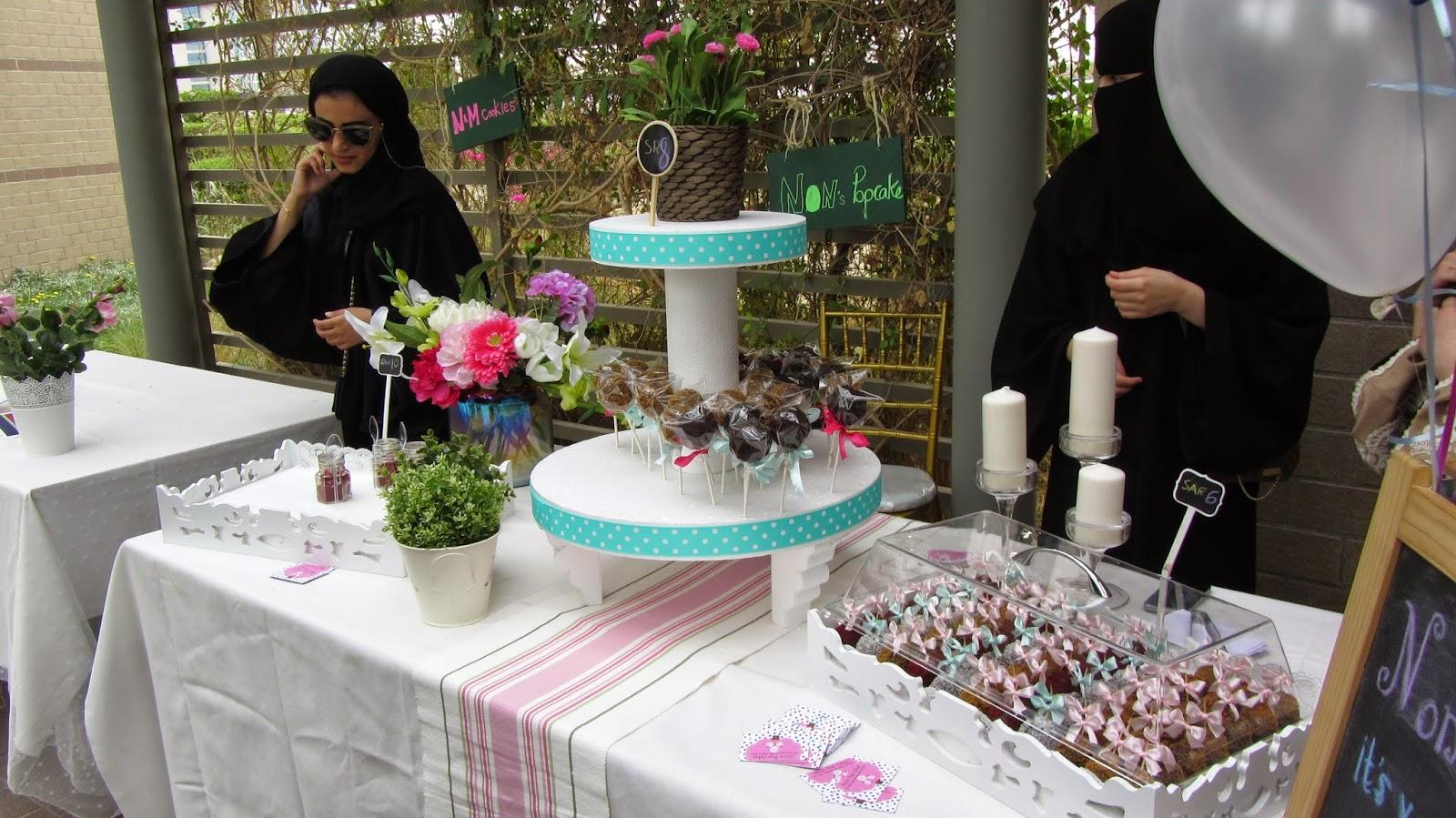 Mathaq Taste of Art Food Khobar Saudi N&M Non's Pop Cakes blog