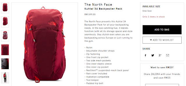 The North Face Kuhtai 34 Backpacker Pack