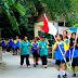 SMP Pangudi Luhur Wdi Gelar Jalan Sehat Sambil Punguti Sampah