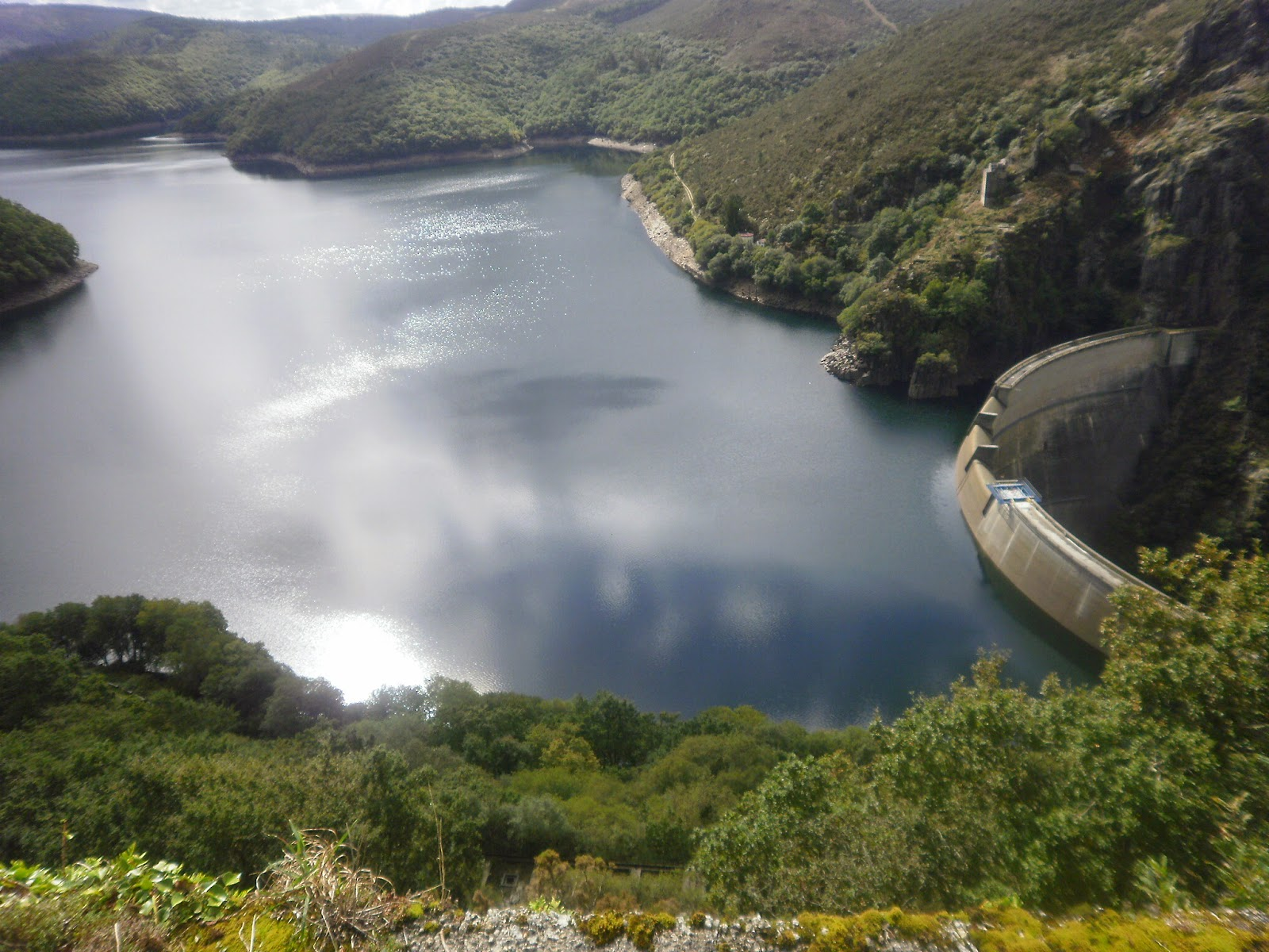Embalse del Eume en As Pontes de García Rodríguez