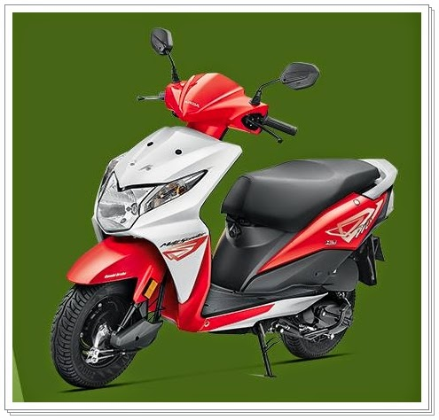 Honda Dio Red Color