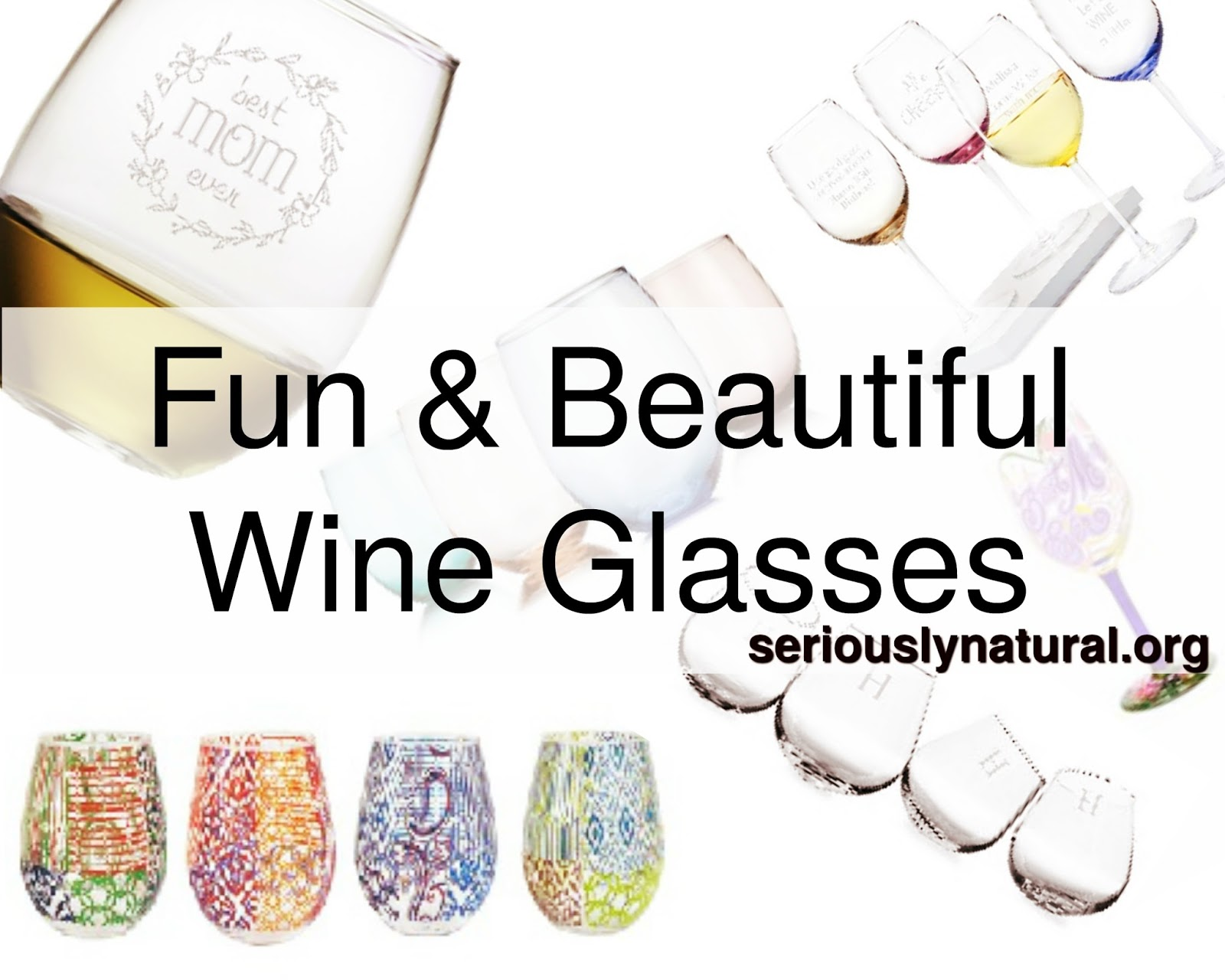 Click here to buy the Home Essentials and Beyond Tuscana 4 Piece 14 Oz. Stemless Glass Set for the perfect Mother's Day gift!