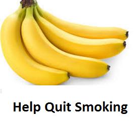Health Benefits of Banana fruit - Bananas Help Quit Smoking
