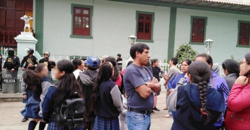 Escolares de Cajamarca se quedan sin fiesta de promoción y denuncian a tesorero el robo de 13 mil soles