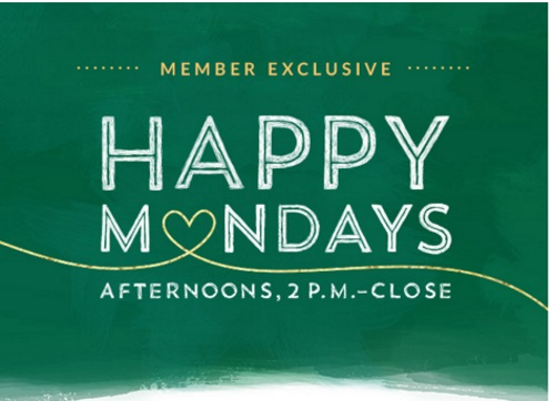 Starbucks Happy Monday Member Exclusive