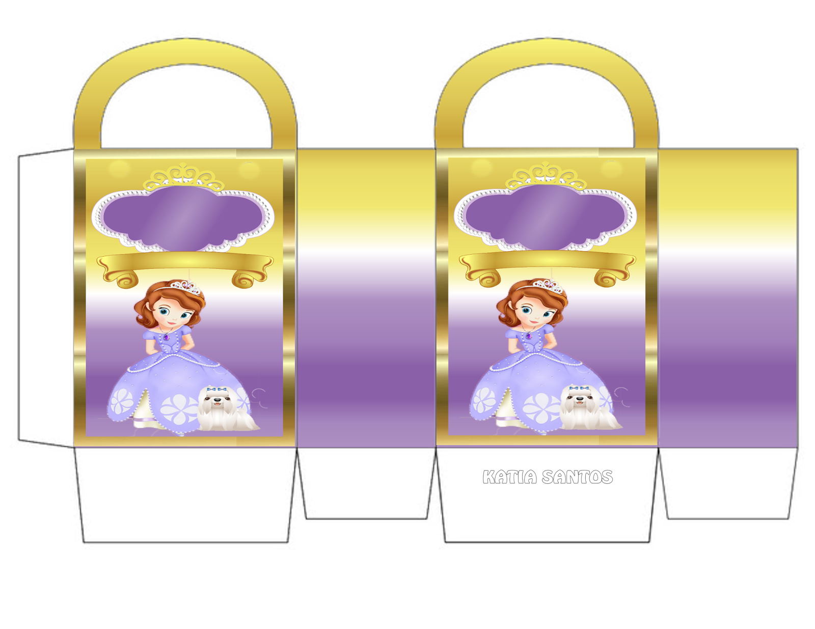 Nice Sofia The First Free Printable Boxes Oh My Fiesta In English