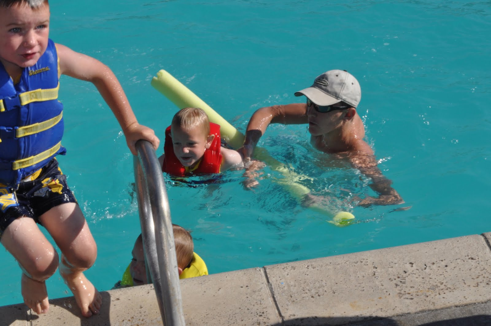 Ammon Swimming Pool: Our CRAZY WONDERFUL Life: Swimming Lessons