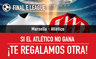 sportium Promocion Marsella vs Atletico 16 mayo