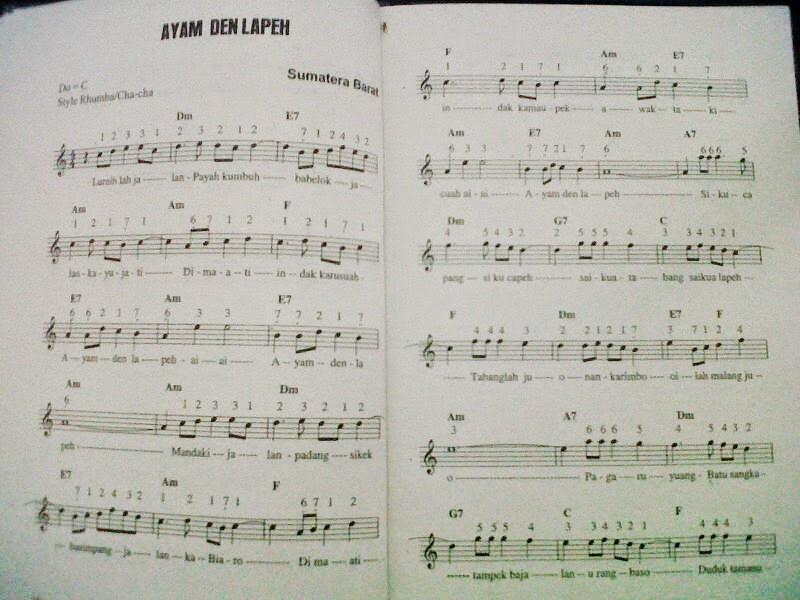 Ini Dia Nuansa Musik Daerah Lagu Daerah AYAM DEN LAPEH