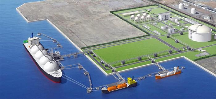 LNG terminal $2.7 Billion USD - Myanmar