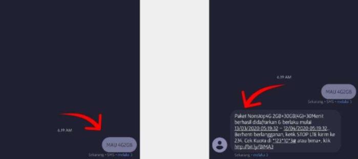 Cara Buat Paket Tri Bulanan Hemat 32GB Cuman Rp 60.000