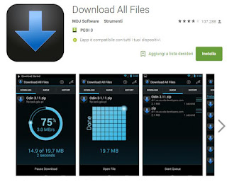 app download manager su android