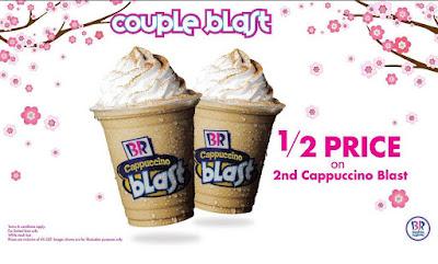 Baskin Robbins Malaysia Cappuccino Blast Couple Discount Promo
