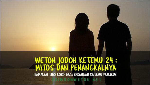 Weton Jodoh Ketemu 24