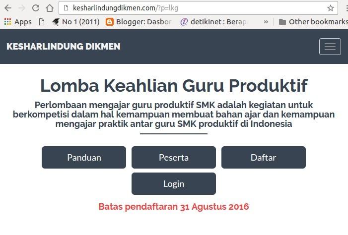 Lomba Keahlian Guru Produktif Smk 2016 Komunitas Smk Kabupaten Grobogan
