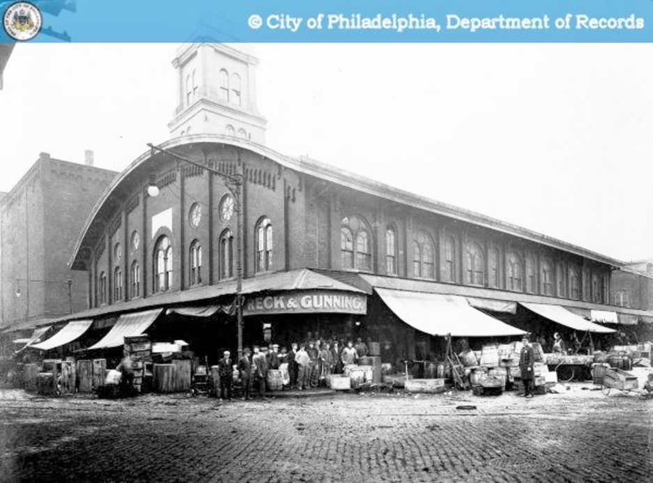 Philly stuff dock street fish market 1914 s 2nd and for Fish market philadelphia