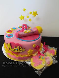 Soy Luna no aniversário da Matilde